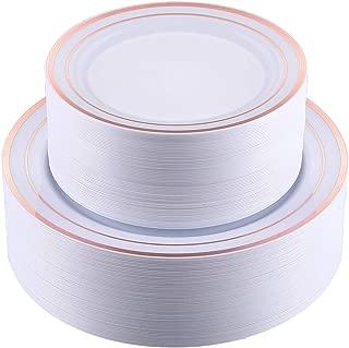 Best 10.25 plastic dinner plates Reviews