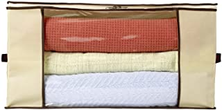Ziz Home Blankets Clothes Storage Bag Breathable Anti-Mold Material Closet Organization Used for Linen Storage Blanket Sto...
