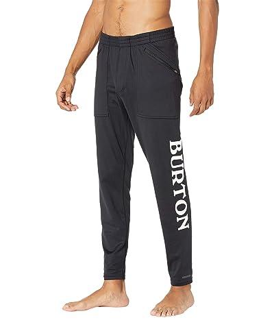 Burton Midweight Base Layer Stash Pants (True Black) Men