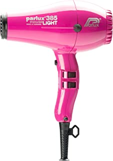 Parlux 385 Powerlight Ceramic & Ionic Dryer 2150W, Fuchsia