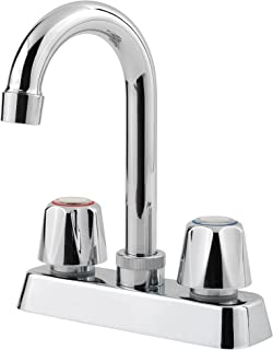 Pfister Pfirst Series 2-Handle Bar/Prep Kitchen Faucet, Polished Chrome