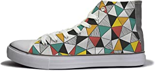 Rivir Canvas High Top Sneakers for Women's