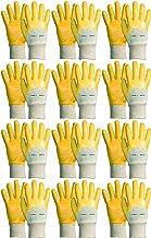 Novatool 12 paar werkhandschoenen heren I maat 8 I nitril | olieafstotend I EN388:2016 311X I montagehandschoenen bescherm...