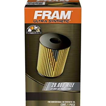 FRAM Ultra Synthetic XG9641, 20K Mile Change Interval Cartridge Oil Filter