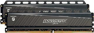 Ballistix Crucial Tactical módulo de - Memoria (8 GB, 2 x 4 GB, DDR4, 2666 MHz, 288-pin DIMM)