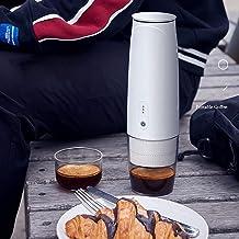 Draagbare Koffiemachine Nespresso Capsule-Versie, Capsule Koffiezetapparaat Koffiekop Klein 50 Kopjes[Wit]