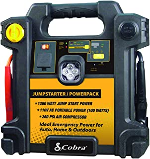 CJIC 250 500 Peak Amps of Jumpstart Power Cobra Jump Starter