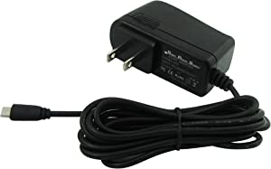 Super Power Supply AC/DC Adapter Charger 2 Meter (6.5ft) Cord Rapid Home for Dell Venue 8 Pro 3830, 5830; Dell Venue 7 3730; Ven7-1666BLK, T01C, Ven8-1999BLK, T02D Tablet PC Tab Micro USB Microusb