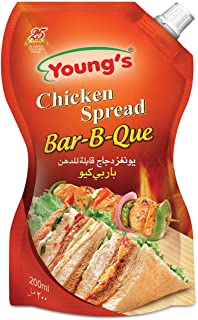 Young's Chicken Spread BBQ, 200 ml