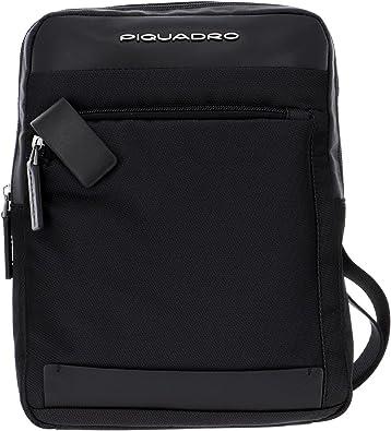 """PIQUADRO Borsello Porta iPad®10,5'' e iPad 9,7"""" Colore Nero. MOD CA1816S100N"""