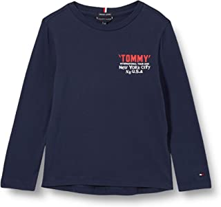 Tommy Hilfiger Tommy On Tour tee L/S Camisa para Niños