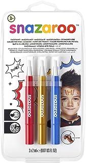 "Snazaroo - Set de 3 Rotuladores de Maquillaje ""Avent"