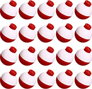 1-1//2 Red /& White Fishing Floats Terminal Tackle 24 Pieces