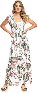 71b304d2cb Roxy A Day at Tribeca Robe Longue sans Manches Femme