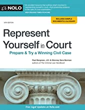 Represent Yourself in Court: Prepare & Try a Winning Civil Case PDF