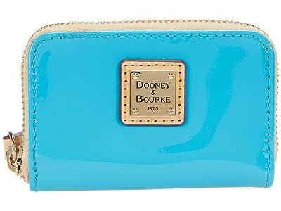 Dooney & Bourke Patent Zip Around Credit Card Case