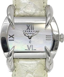 シャリオール CHARRIOL クチャ レディース 腕時計 ホワイトシェル 文字盤 クォーツ ウォッチ【中古】 90041389 [並行輸入品]