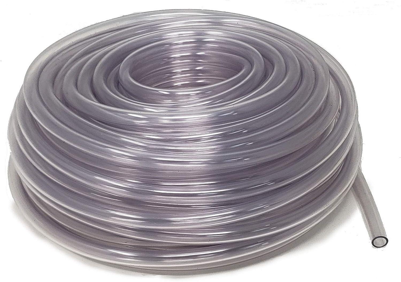 Rollerflex Food Grade Crystal Clear Max 55% OFF Vinyl ID Free shipping / New Tubing x 5 16-Inch