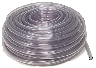 Sealproof Unreinforced PVC Food Grade Clear Vinyl Tubing, 3/8-Inch ID x 1/2-Inch OD, 100 FT