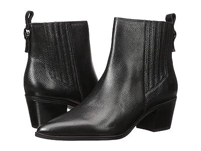 Franco Sarto Shay (Black Leather) Women