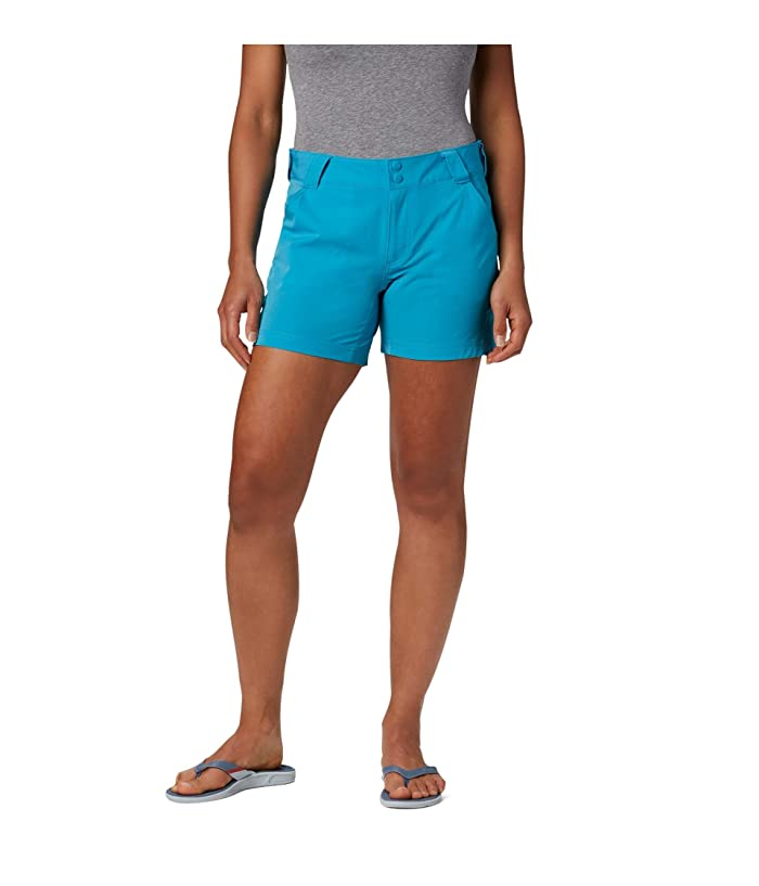 Columbia  Coral Pointtm III Shorts (Clear Water) Womens Shorts