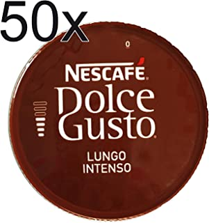 50 X Nescafe Dolce Gusto Coffee Capsules - LUNGO INTENSO Coffee Capsules