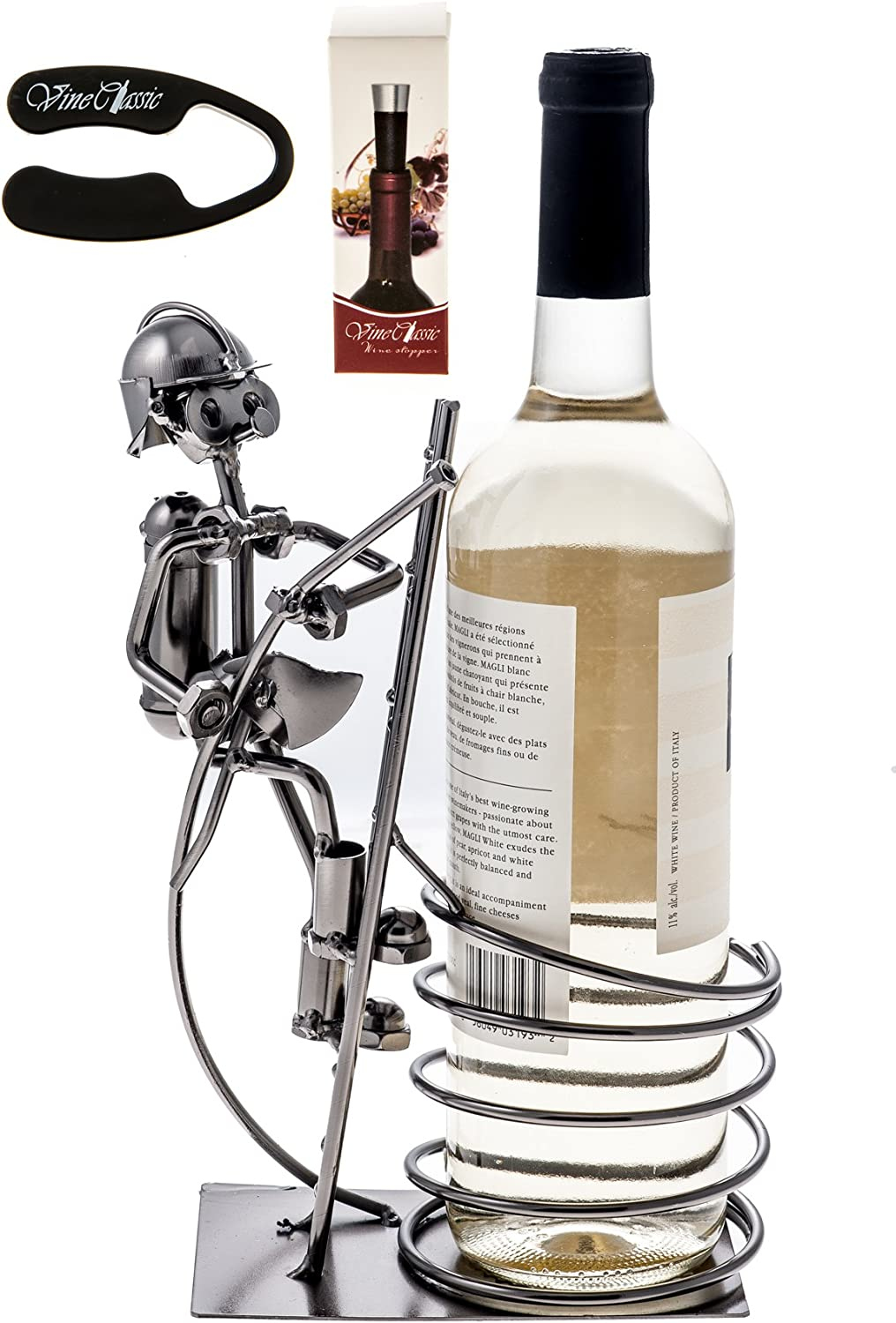Upscale Innovations Fire Fighter Wine Holder with Quantity limited Bottle a excellence