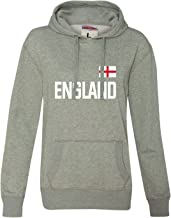 Go All Out Womens Team England British Pride Glitter Hoodie