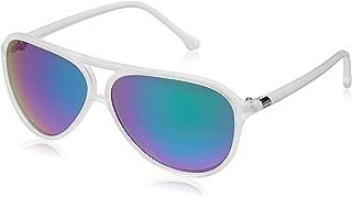 Fastrack SpringersUnisex Aviator Sunglasses (P297GR2|White)