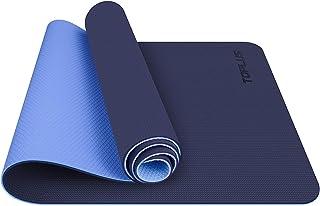 TOPLUS Tapis de Yoga, Tapis Gym - en TPE matériaux Recyclable, Ultra antidérapant et Durable, 183x61x0.6 cm, Non Toxique, ...