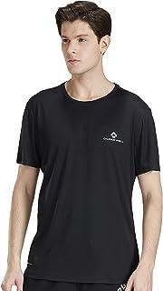 ランニングtシャツ 通気速乾 半袖 スポーツ トレーニングウェア 薄手 夏 メンズ