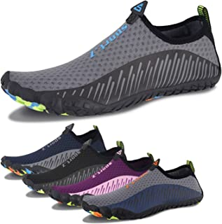 Mabove Kids Swim Water Shoes Non-Slip Quick Dry Barefoot Aqua Pool Socks Shoes for Boys & Girls Toddler