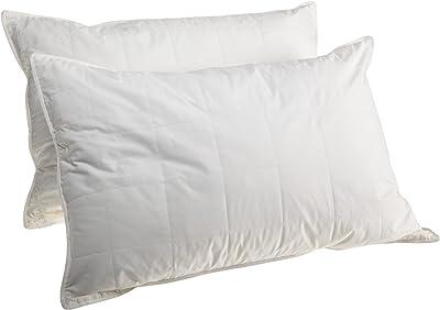 SMARTSILK Set of 2 King Size Pillows