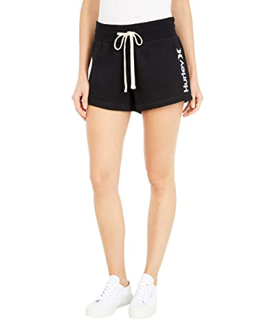 Hurley One and Only Fleece Shorts (Black) Women