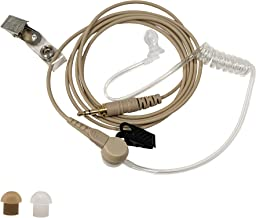 IFB Earpiece 3.5mm Kit Anchor/Broadcaster in Ear Monitor Only On Camera On Stage Professional EarSet Compatible w/iPhone, Andriod, Telex, Clear-Com, Comrex, Lecstronics