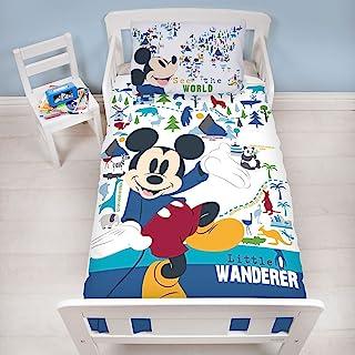 Mickey Mouse Junior - Edredón (150 x 120 cm)