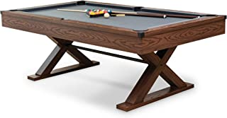 EastPoint Sports Billiard Pool Table 87 Inch - Scratch Resistant Top Rail, Built-in Durable Leg Levelers – perfect for fam...