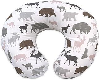 Boppy Original Nursing Pillow & Positioner, Neutral Wildlife
