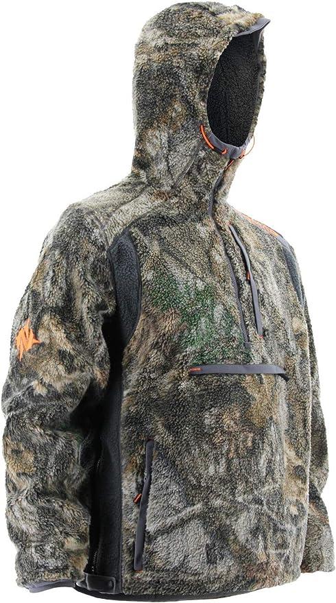 Nomad Hommes Cottonwood Sous-vêtement Ras du cou gris anthracite Grand