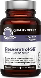 Quality of Life - Resveratrol SR - 30 Vegicaps