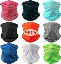 Best Landisun Neck Gaiter Headband Bandanas Face Mask Face Scarf Multifunctional Seamless Sports High Elastic Magic Protectio Review