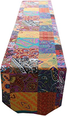 602a11a007 Unomatch Designing Retro Printed Table Runner 4 pc Table Matt (1170 inches