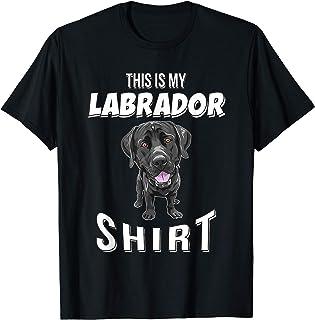 This Is My Labrador Shirt Black Lab Gift Labrador T-Shirt