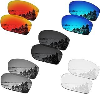 SmartVLT Set of 5 Men's Replacement Lenses for Oakley Fives Squared Sunglass Combo Pack S01