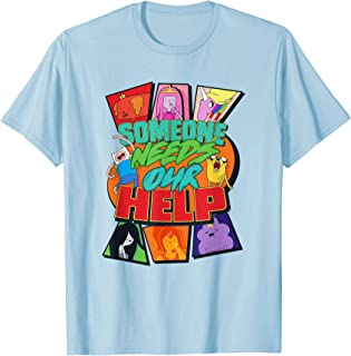 Cartoon Network Adventure Time Someone Needs Our Help T-Shirt
