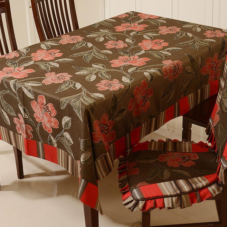 Tuch Tischdecken  pastoralen Stil Tischdecke  Tischtuch Esszimmer Stühle Tischdecke Hochwertiges TuchB 130x130cm(51x51inch)