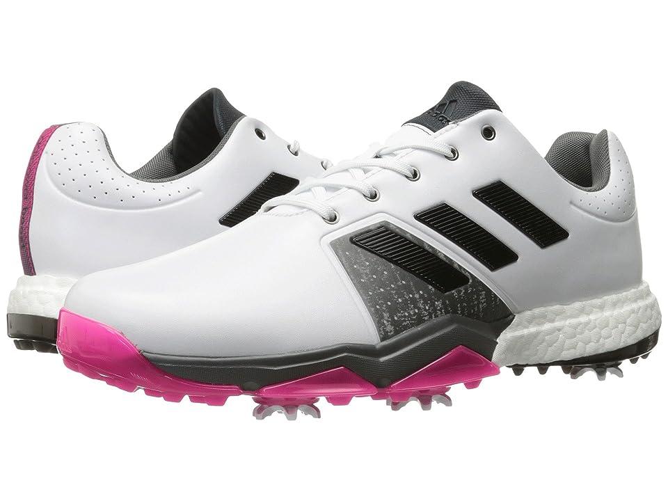 adidas Golf Adipower Boost 3 (Ftwr White/Core Black/Shock Pink) Men
