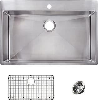 Franke HFS3322-1KIT Sink Kit, 33-in x 22-in x 9-in deep, Stainless Steel
