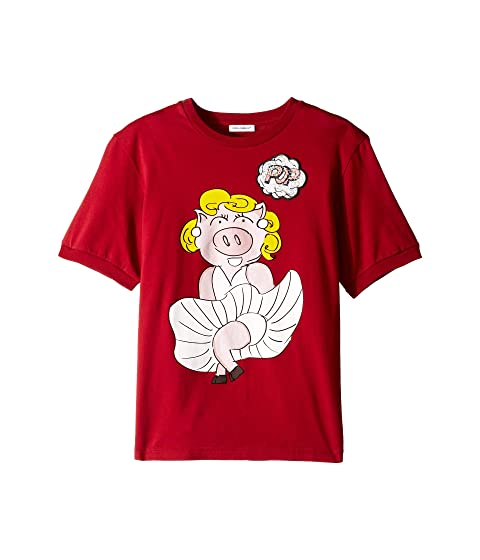 Dolce & Gabbana Kids D&G Hollywood Piggy T-Shirt (Big Kids)
