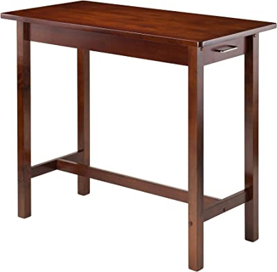 Winsome Wood Sally Kitchen, Antique Walnut